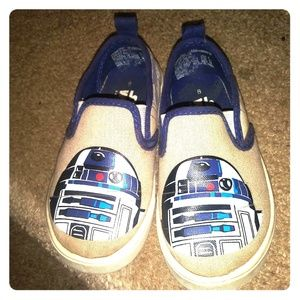 Toddler R2- D2 Star Wars Canvas Shoes